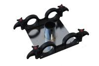 Stehtisch PrakTisch Kopfplatte mit Rohraufnahme