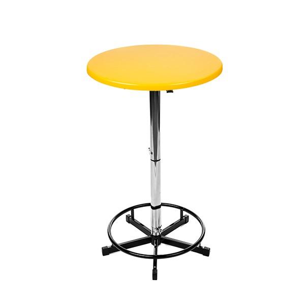 Logo Tisch gelb