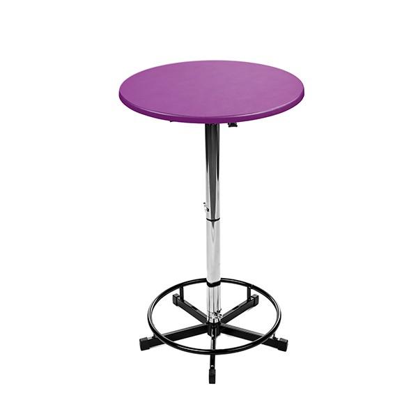 Logo Tisch Purple