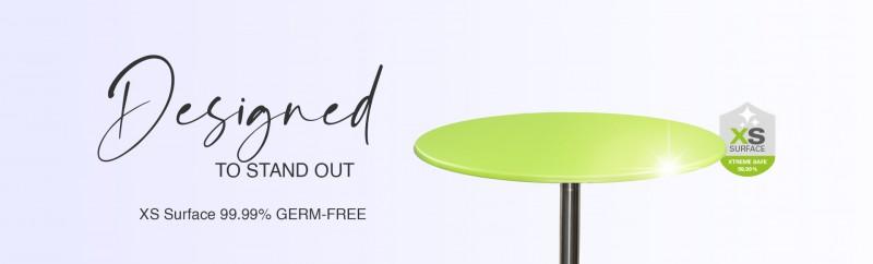 Topalit Tischplatten mit kratzfester Oberfläche