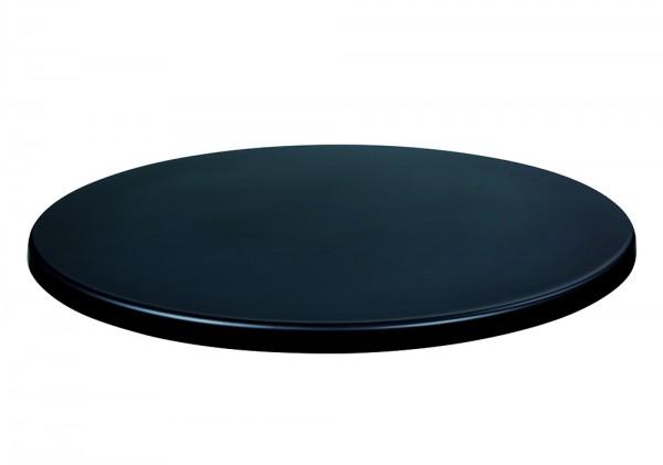 Topalit-Tischplatte Standard Classicline Schwarz