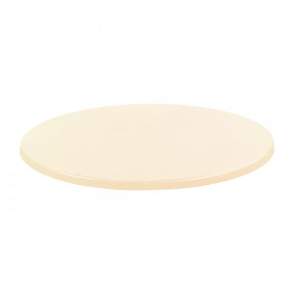 Tischplatte Creme Weiß