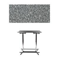Stehtisch | GiganTisch | Dekor: Black Granit