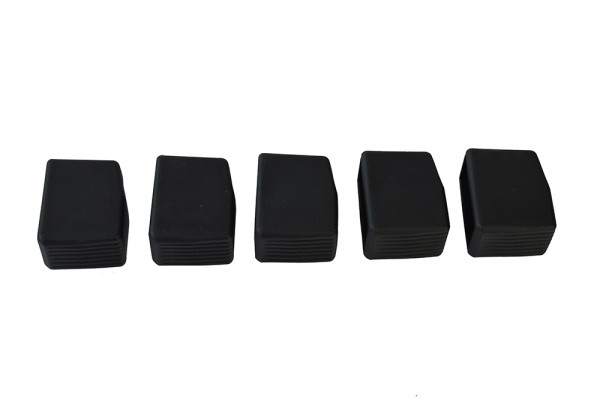 Stehtisch Fußkappen-Set